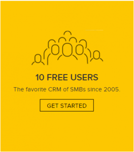 ZOHO CRM FREE 10 user